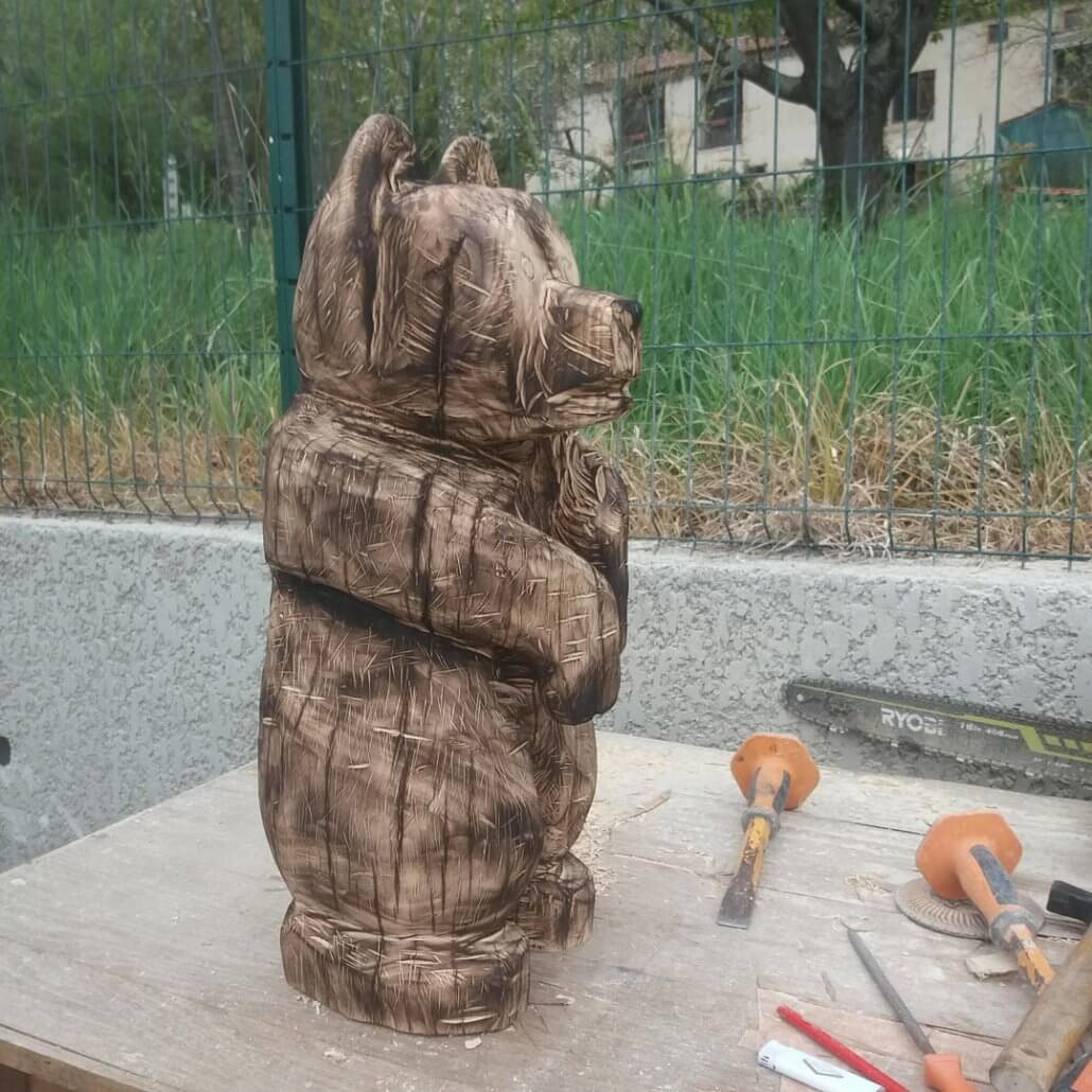 sculpture-ours